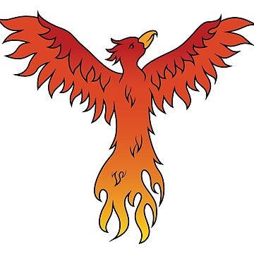 Rising from the Ashes - Phoenix by graphicloveshop