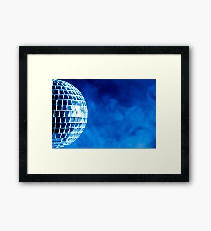 Smoke & Mirrors Framed Print