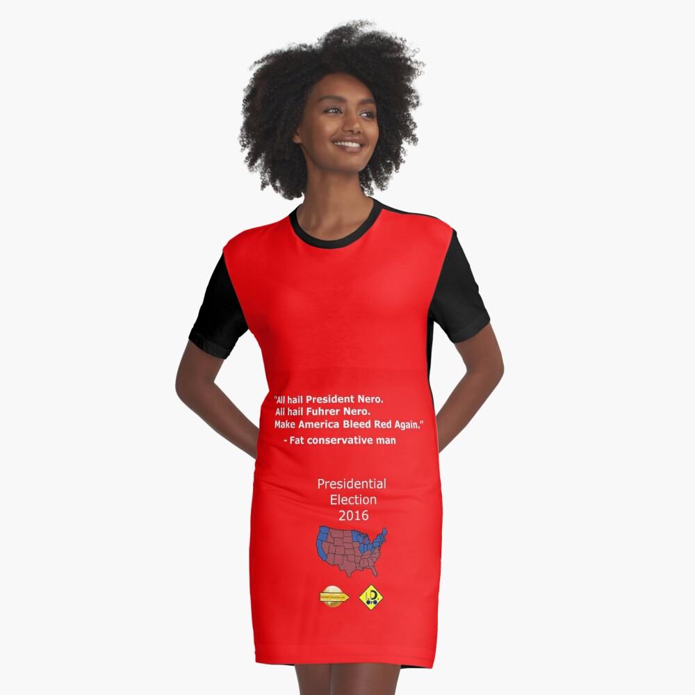 Fat conservative man Graphic T-Shirt Dress Front