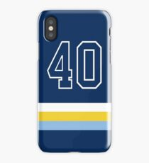 Tampa Bay Baseball - Navy Number 40 iPhone Case