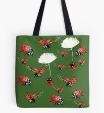 Ladybugs flight Tote Bag