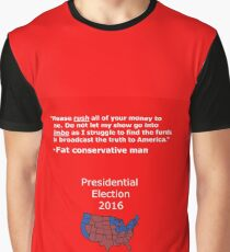 Fat conservative man 2 Graphic T-Shirt