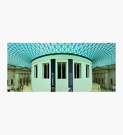 The Great Court - British Museum - London - HDR Panorama Photographic Print