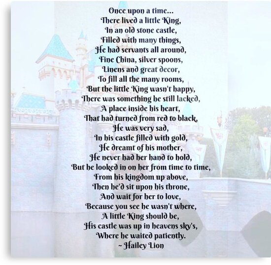Once upon a time there lived a little king... by Hailey352