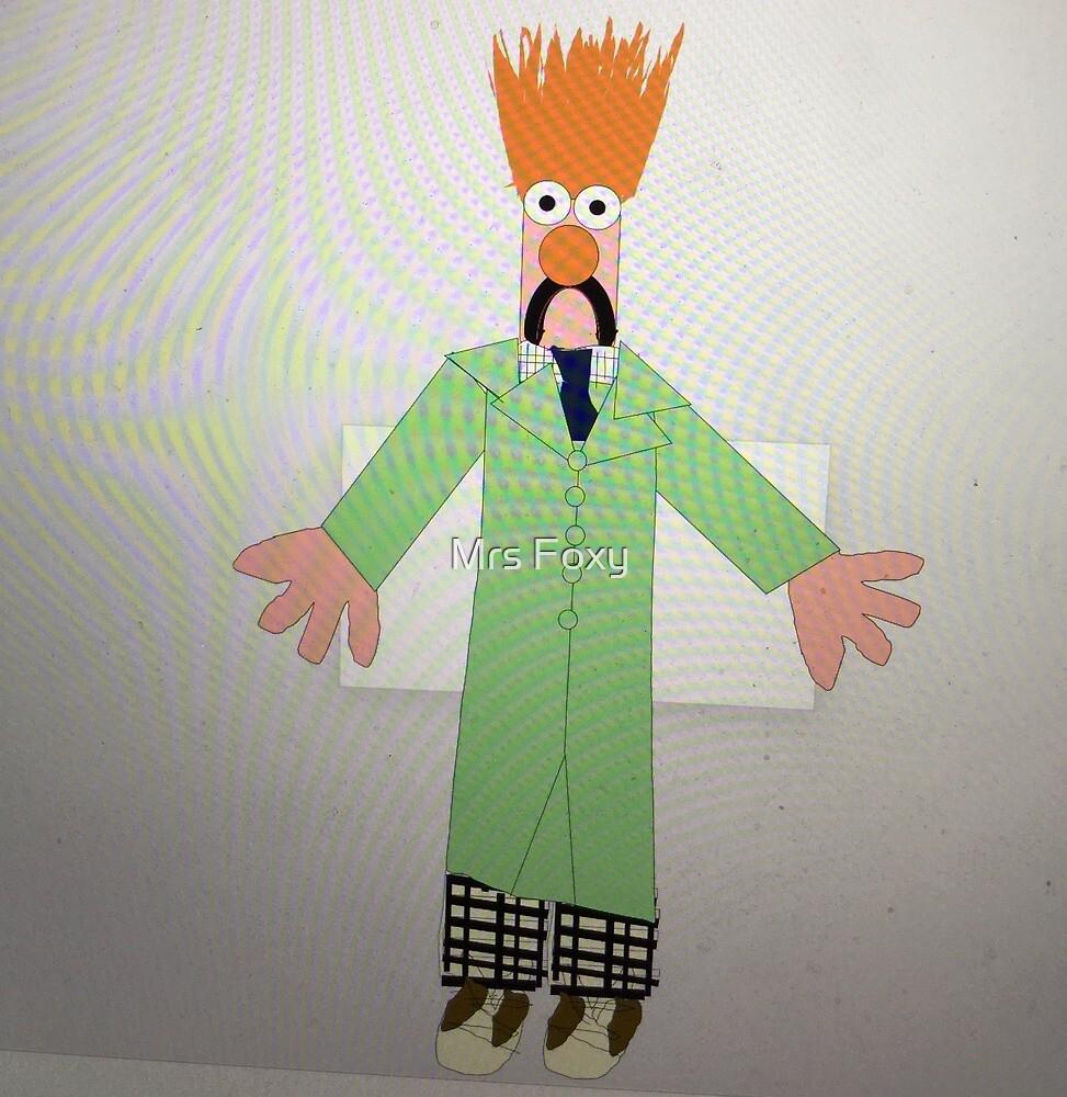 Beaker (The Muppets) by Mrs Foxy