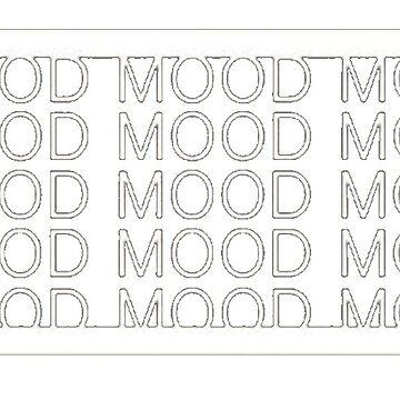 Mood 1% Funny Battery Power Design by ThePrintGuys