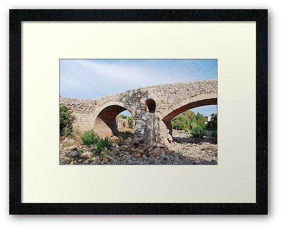 Roman bridge in Pollenca by David Fowler