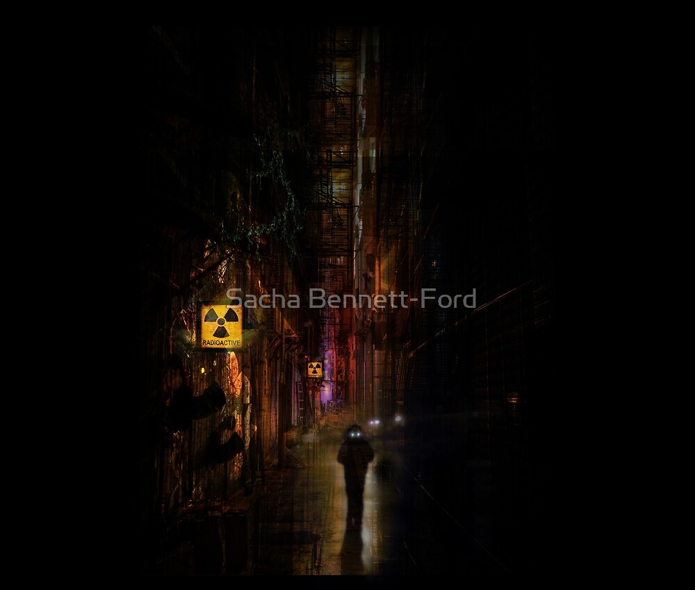 Radioactive Dystopia by Sacha Bennett-Ford