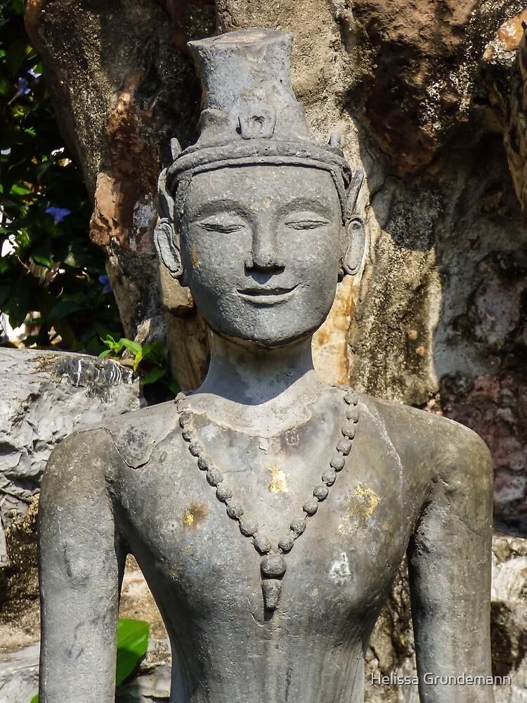 Statue at Wat Pho by Helissa Grundemann