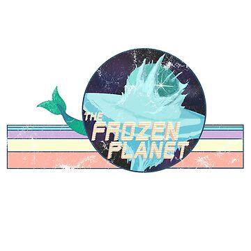 retro frozen planet  by frickin-rad