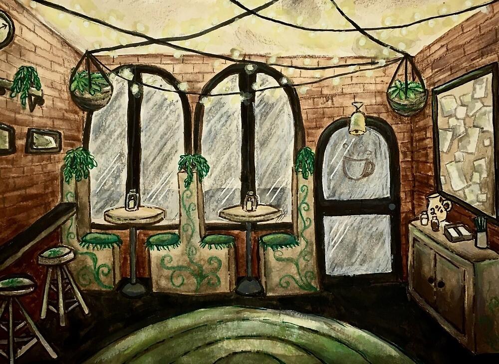 Coffee Shop by Meghan C