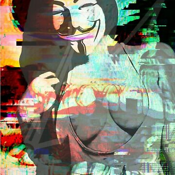 Anonymous Glitch by montro750