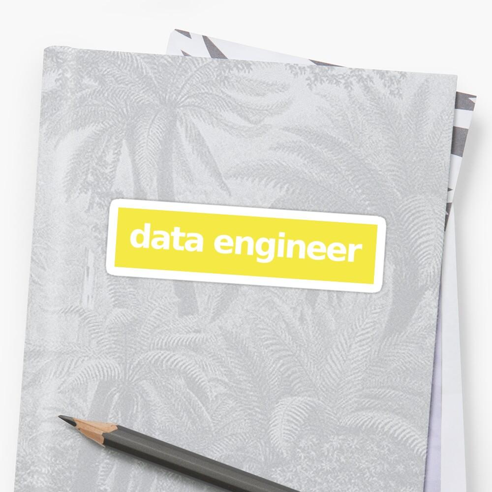 Data Engineer - Yellow by munchgifts