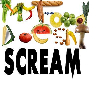 My food doesn't scream by skelingtondino