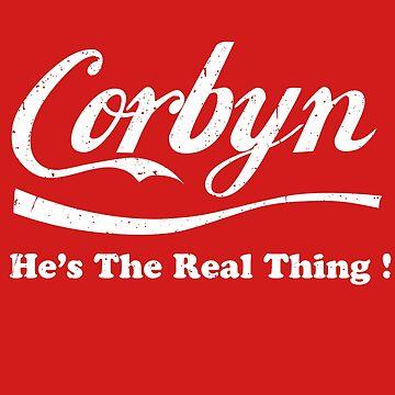 Corbyn, He's the Real Thing! Labour Jeremy Corbyn by MazzaLuzza