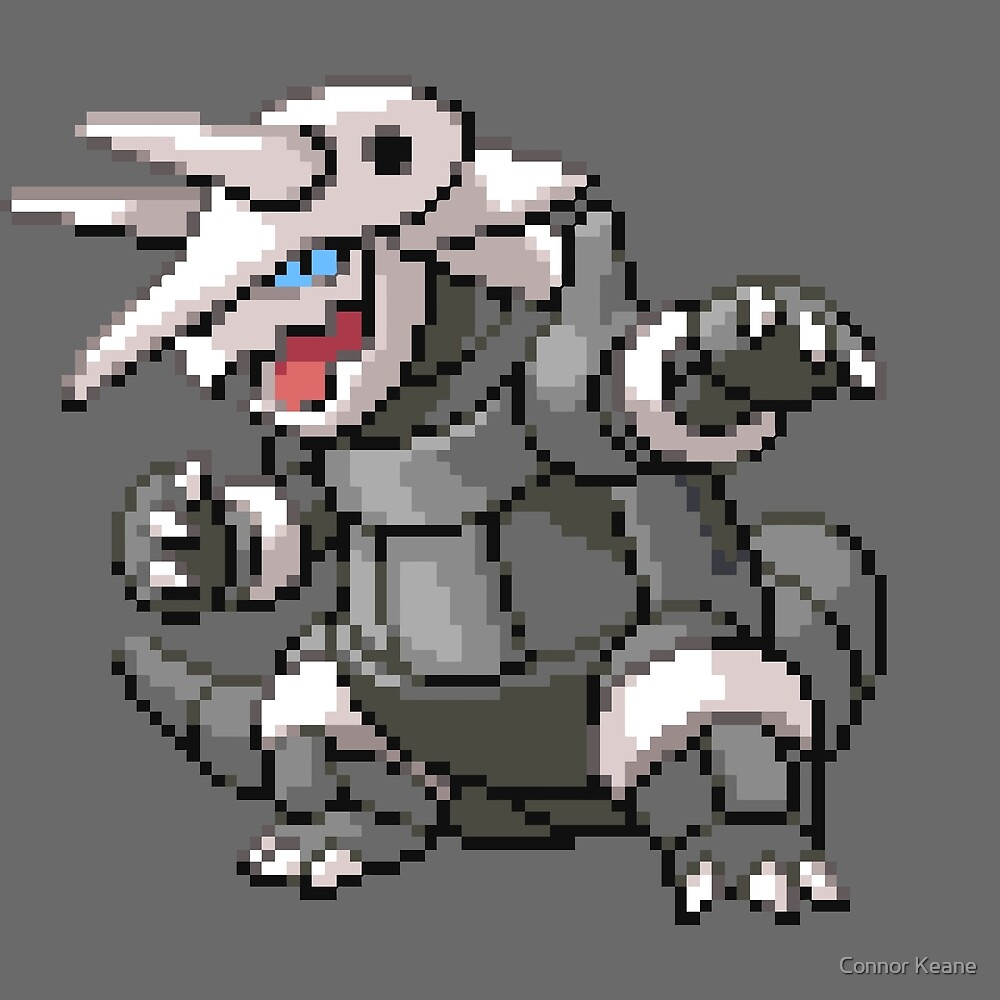 Aggron by Connor Keane