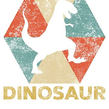 Vintage Polygon Dinosaur by Distrill