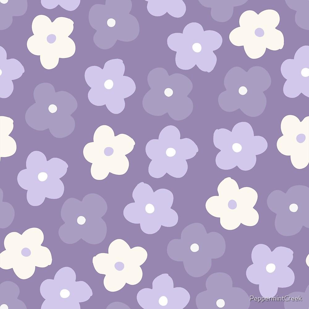 Purple Flowers by PeppermintCreek