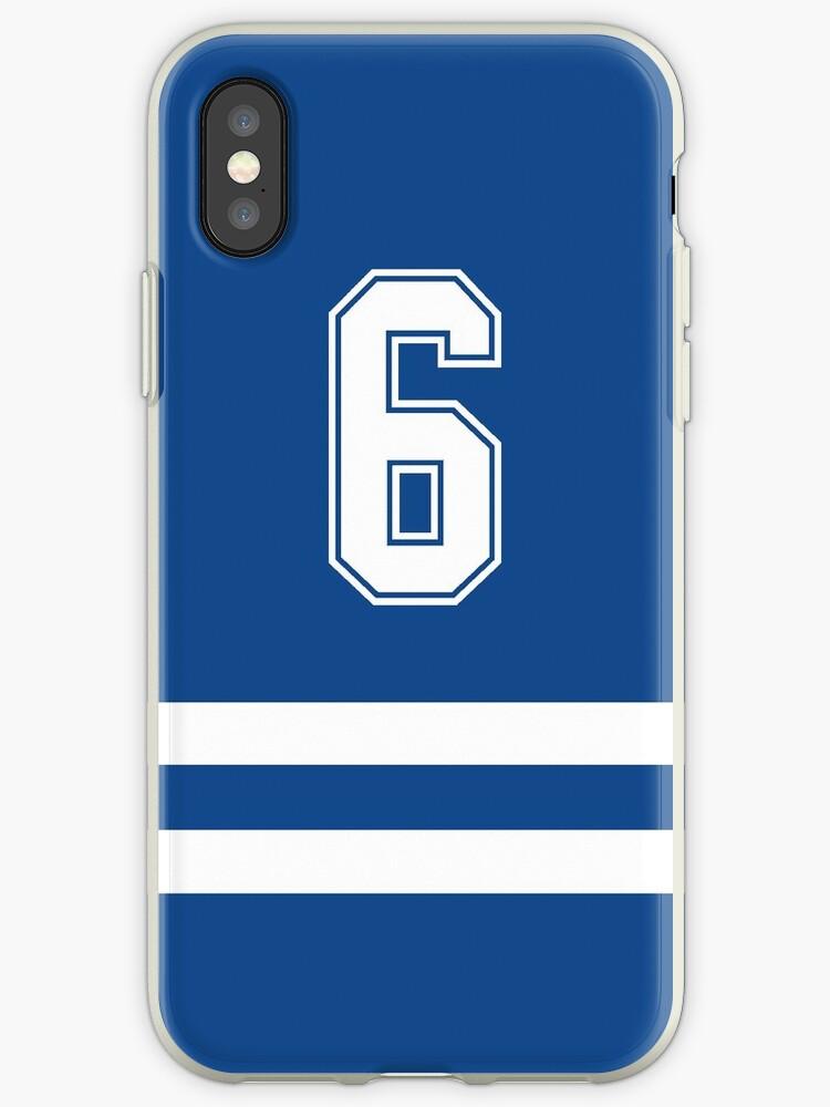 Toronto Baseball - Blue Number 6 by flatback4