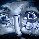 Graffiti eyes open wide by yurix