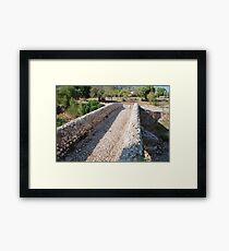Majorcan Roman bridge, Pollensa Framed Print