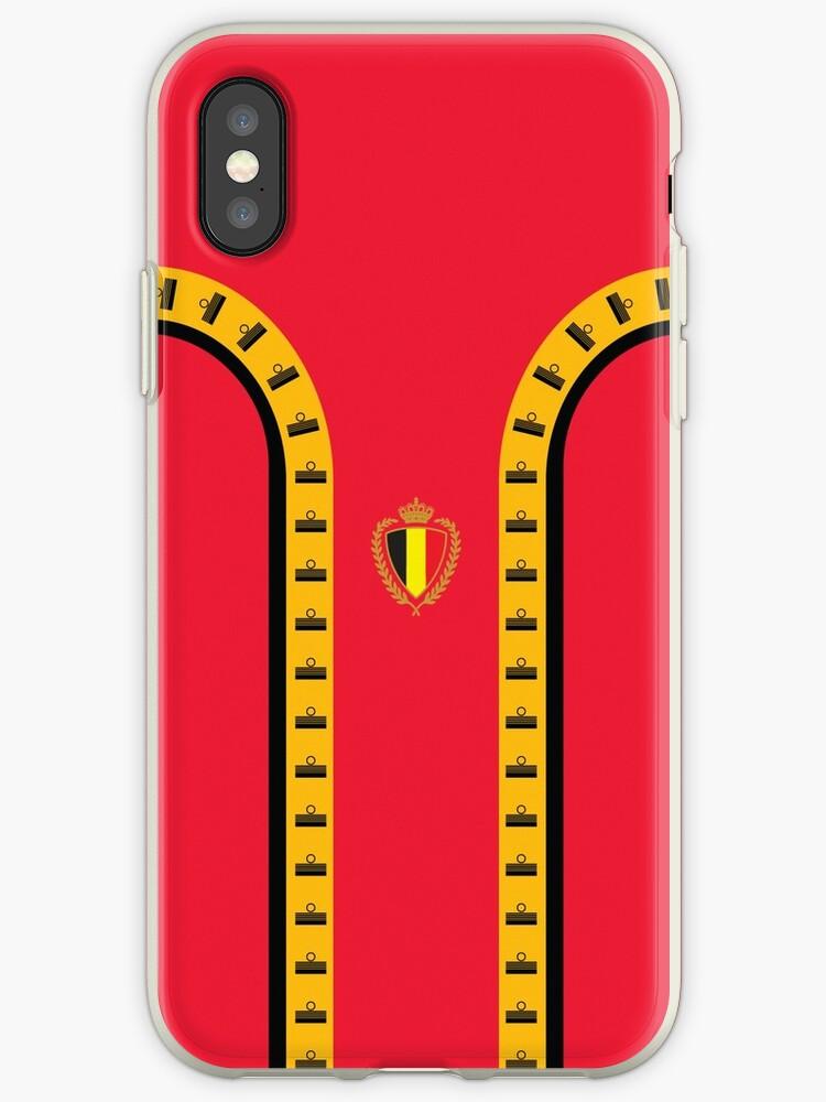 Belgium Retro 1982 Kit Design by davidnugent