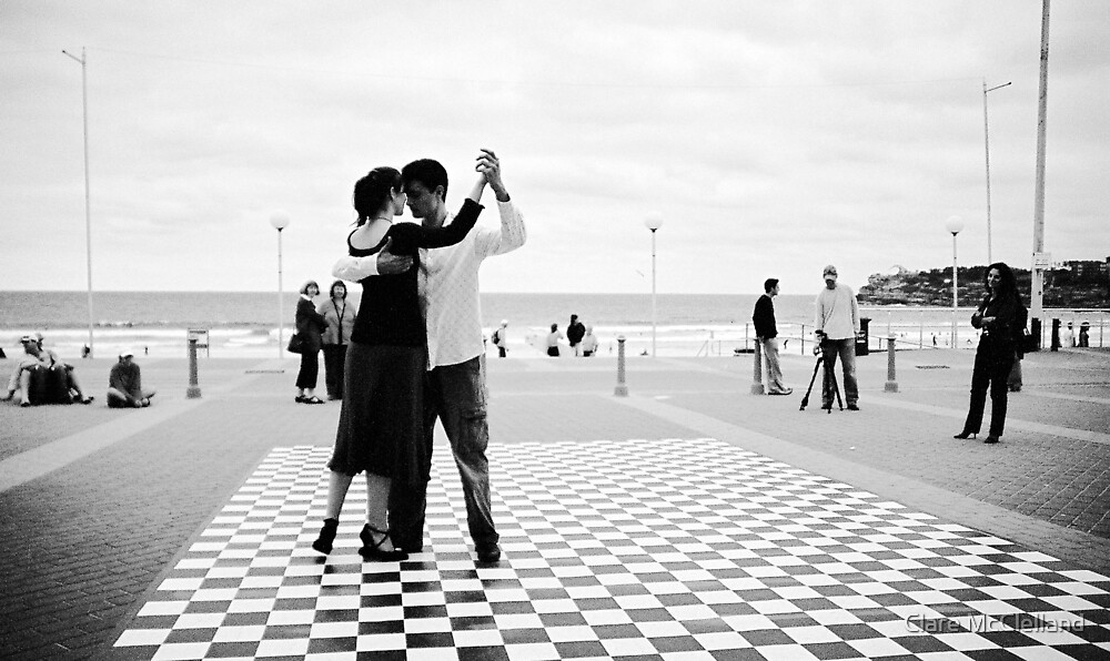 so it begins..tango by Clare McClelland