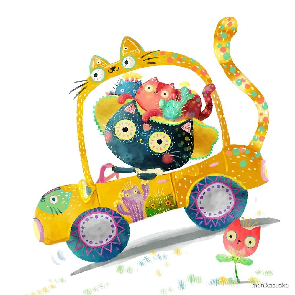 Cat Lover Kitten  by monikasuska