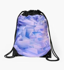 Into The Blue Drawstring Bag