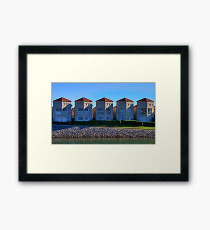Five of a Kind | Settlement City | Port Macquarie | Australia Framed Print