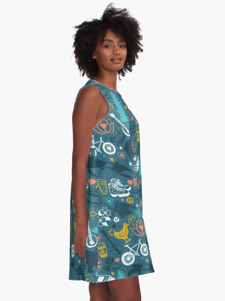 Alternate view of The Life in Asheville A-Line Dress