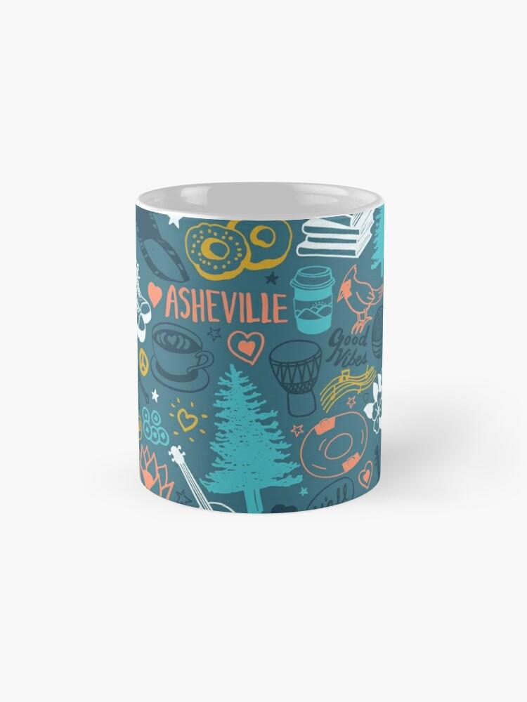 Alternate view of The Life in Asheville Standard Mug