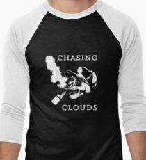 Cloud Chasing Vape Vaping Vaper  Men's Baseball ¾ T-Shirt