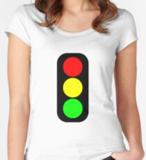 Street Light Women's Fitted Scoop T-Shirt
