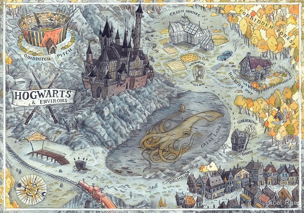 Magic Map by juliacoalrye