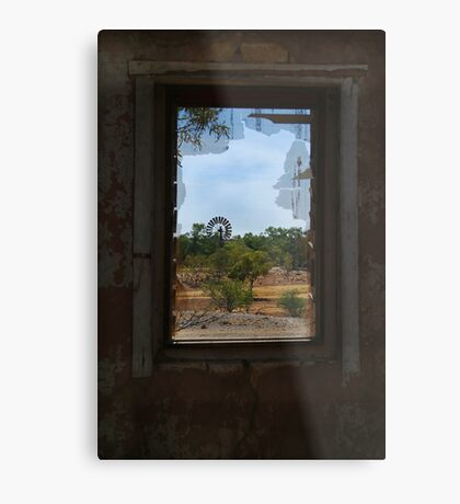 Ruin,Old Cork Station, Outback Queensland Metal Print