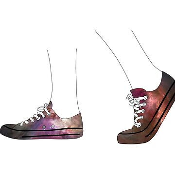 Galaxy Sneakers by earlyday