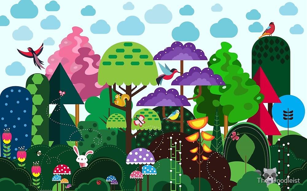 Forest  by Shefali  Desai