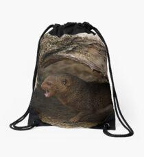 Mongoose!  Drawstring Bag