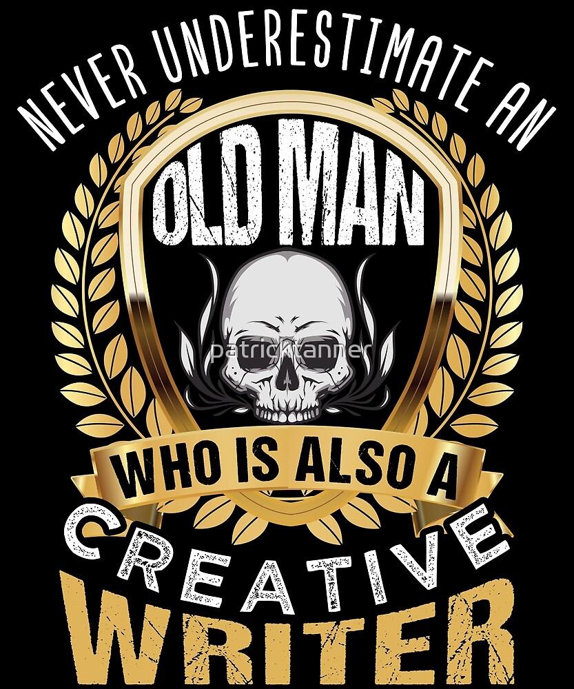 Creater Writer Old Men by patricktanner