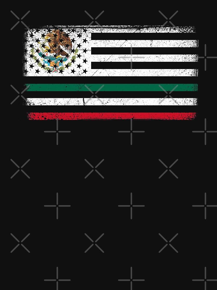 America Mexico Flag by goodspy