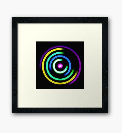 The Maze Of Light  Framed Print
