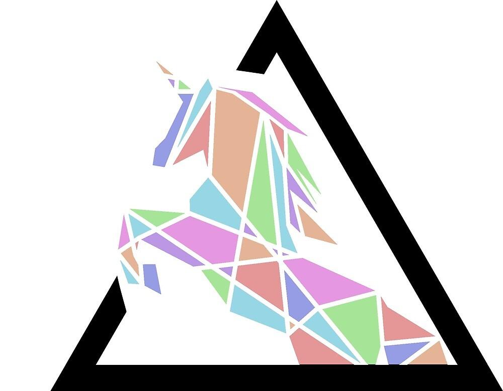 Polygon unicorn by zmr-