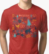 The Life in Asheville Tri-blend T-Shirt