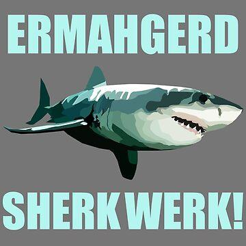 Shark Week by nataliebohemian