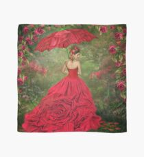 Woman In The Rose Gown Scarf
