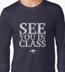 See You In Class (White) Long Sleeve T-Shirt