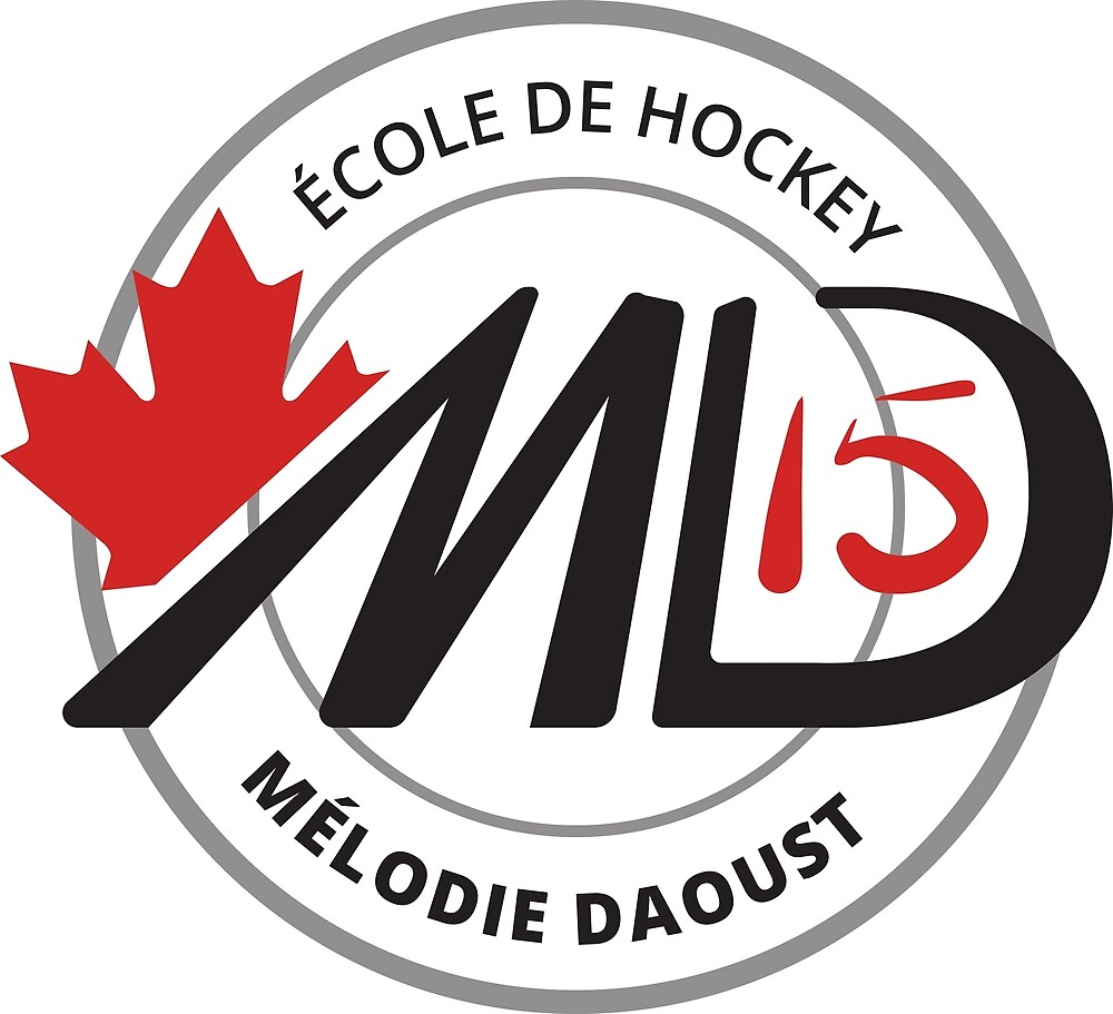 Melodie Black Logo Hockey School Apparel by Doylie31