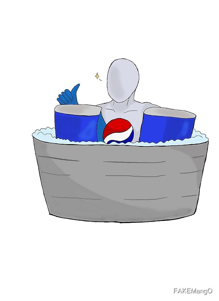 Pepsi Man! Chill! by Monica Lunak