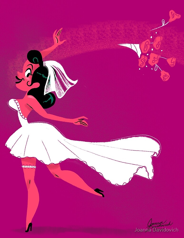 Blushing Bride by Joanna Davidovich